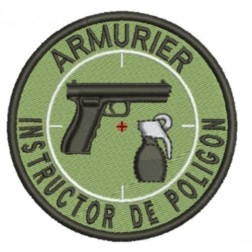 Emblema INSTRUCTOR POLIGON