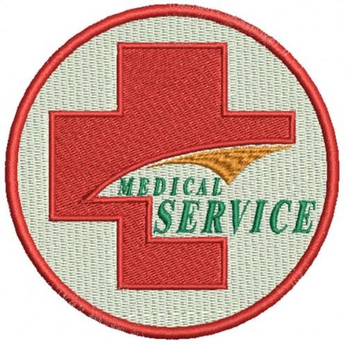 ECUSON / EMBLEMA - MEDICAL SERVICE, SANITAR