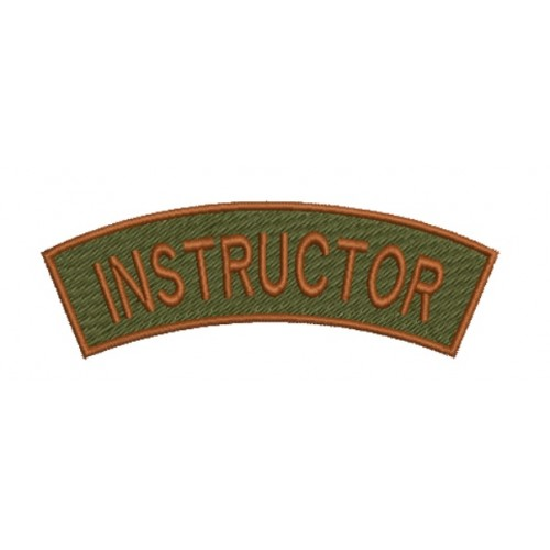 Patch-uri militare / EMBLEME – INSTRUCTOR