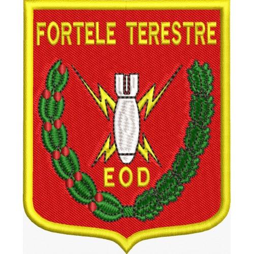 ECUSON / EMBLEMA - FORTELE TERESTRE EOD