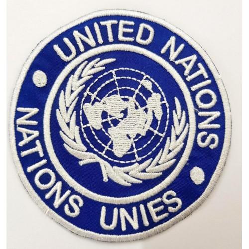 Emblema UNITED NATIONS