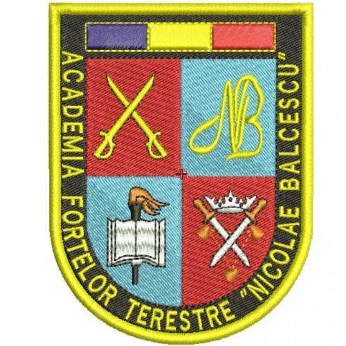 Emblema ACADEMIA FORTELOR TERESTRE - NICOLAE BALCESCU