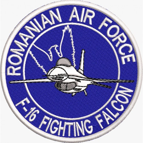 ECUSON / EMBLEMA - Pilot F-16 FIGHTING FALCON Romanian Air Force