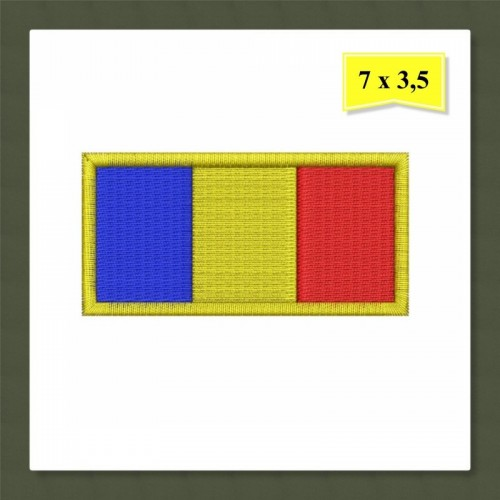 Patch-uri militare – TRICOLOR / maneca