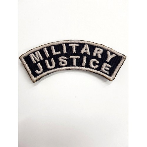 Patch-uri militare / EMBLEMA MILITARY JUSTY / combat
