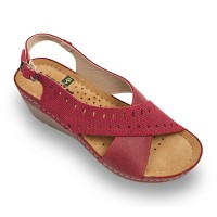 Sandale Leon 1030 rosu - dama