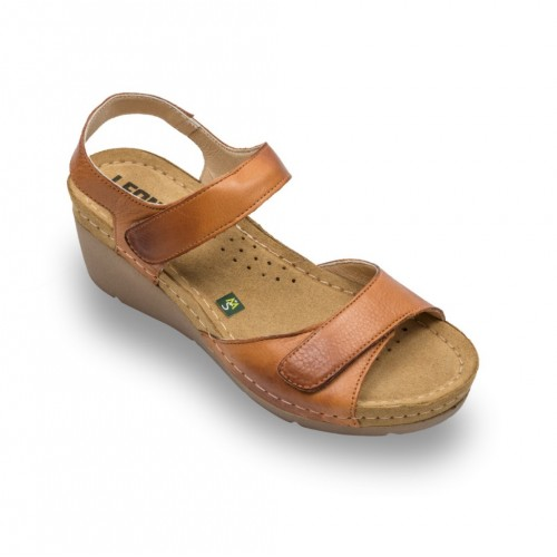 Sandale Leon 1041 maro - dama