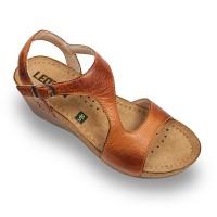 Sandale Leon 1050 maro - dama