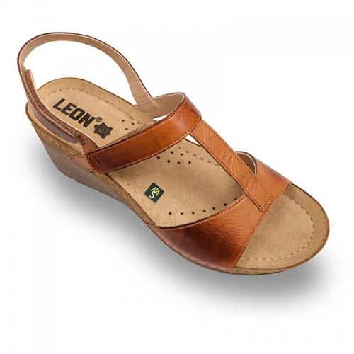 Sandale Leon 1061 maro - dama