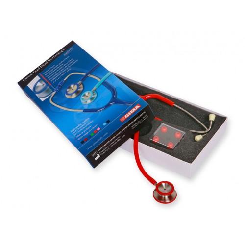 Stetoscop Acustic Classic II - rosu (32538)