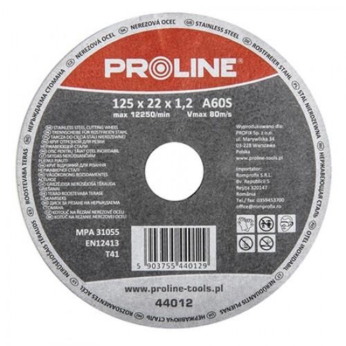 DISC DEBITARE INOX 125X1.2MMA60S