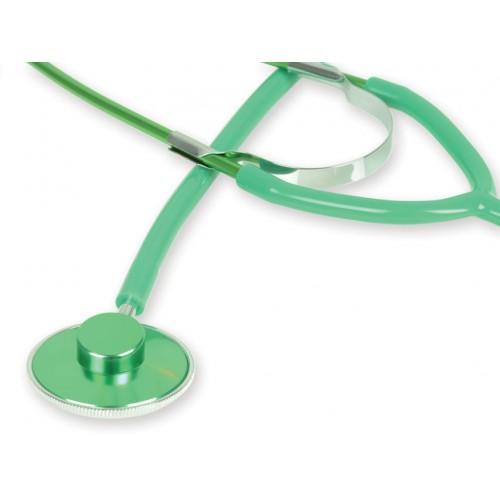 Stetoscop cu capsula simpla GIMA - Latex Free - verde (51004)