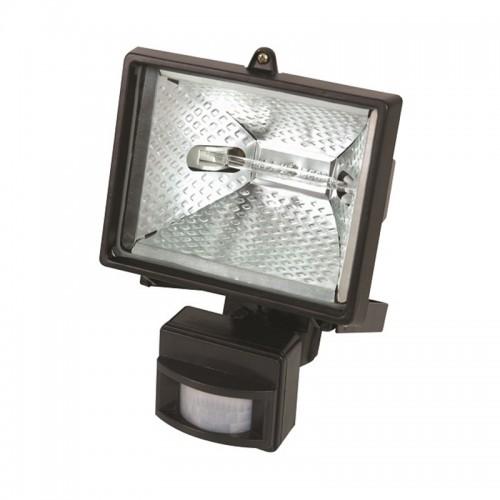 LAMPA HALOGEN PERETE CU SENZOR DE MISCARE 150W220V