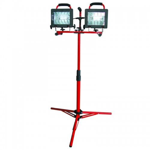 LAMPA HALOGEN PORTABILA CU STATIV COMPLEX 2X500W220V