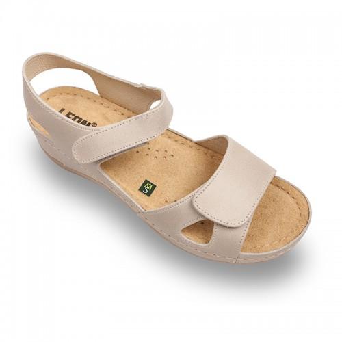 Sandale Leon 935 beige - dama 37 Fara-impri