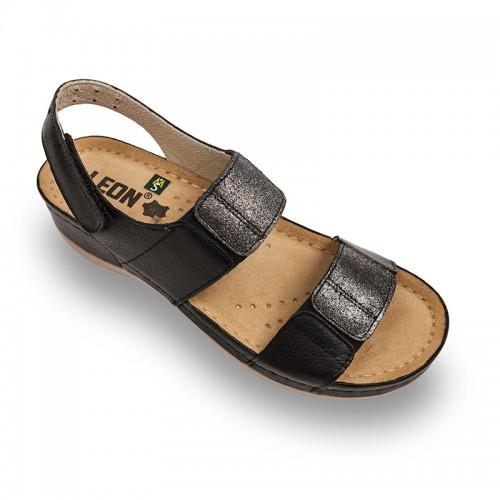 Sandale Leon 945 negru - dama