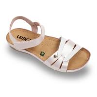 Sandale Leon 961 perla - dama