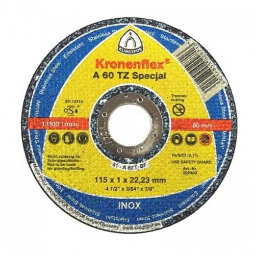 DISC DEBITARE INOX 125X1.0MMA60TZSPECIAL