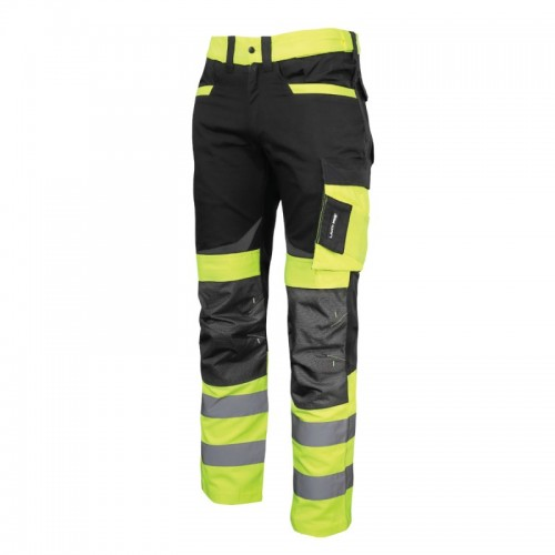 PANTALON REFLECTORIZANT SLIM-FIT / VERDE