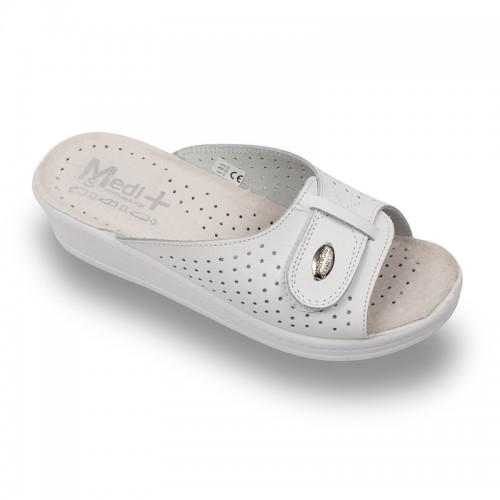 Papuci Medi+ 312SB alb - dama