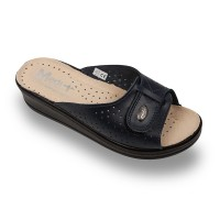 Papuci Medi+ 312SB albastru - dama
