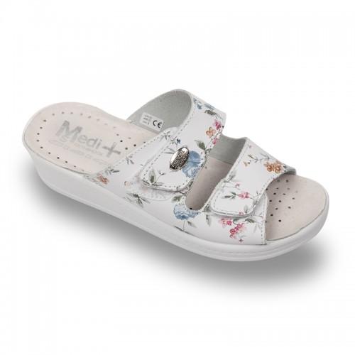Papuci Medi+ 410SBF floral - dama