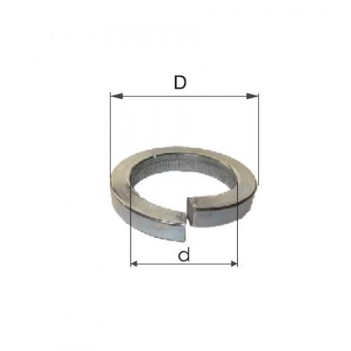 SAIBE ZINCATE GROVER M12 (12.2/20.3MM), 500/SET