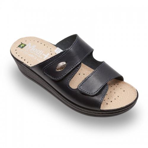Papuci Medi+ 410SB albastru - dama
