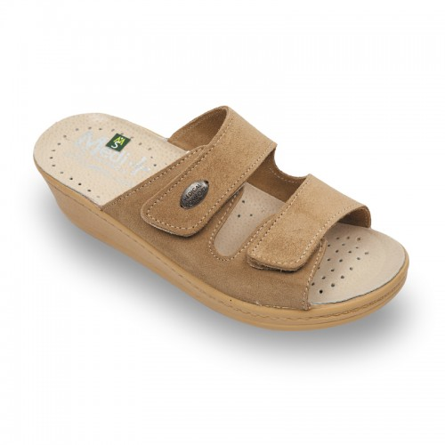 Papuci Medi+ 410SV beige - dama