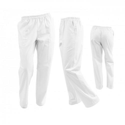 Pantaloni alb unisex