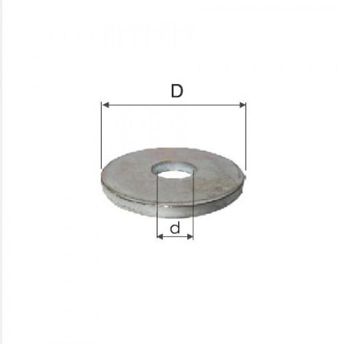 SAIBE ZINCATE LATE GROASE M10 (11.1/33.7MM), 200/SET