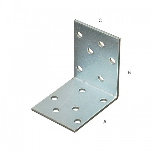 COLTAR PERFORAT 2/40X50X50MM (5MM)