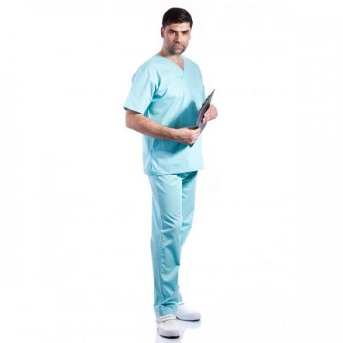 Costum medical aqua - unisex