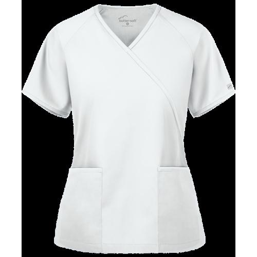 Bluza medicala   2pocket mock wrap   (WT668C)