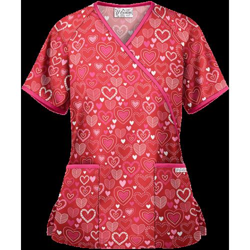 Bluza medicala   All about love   (UA668ALR)