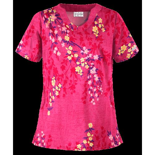 Bluza medicala   Cherry blooms   (UA198CDF)