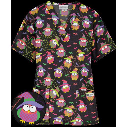 Bluza medicala   Ghoulish Owls   (H61GHO)