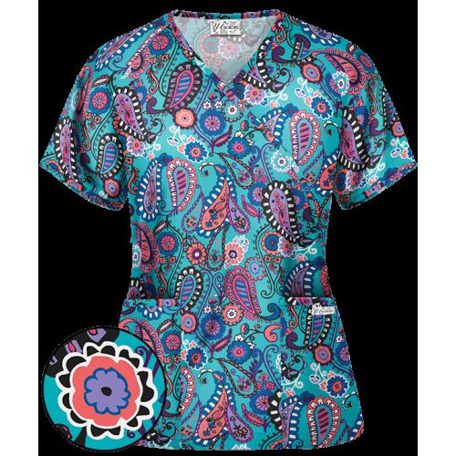 Bluza medicala   Paisley jamboree   (WT668PJT)