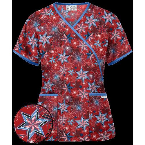 Bluza medicala   Red Fireworks   (WT668RFK)