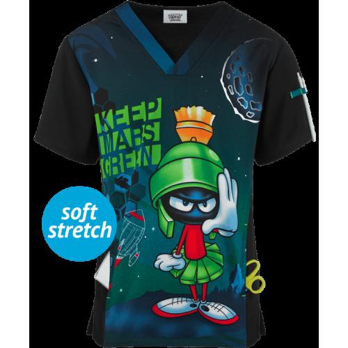 Bluza medicala   Tooniforms Keep Mars Green   (CK708LTM)