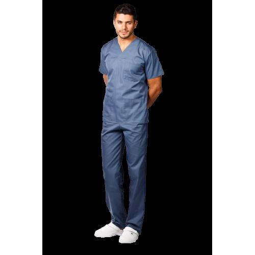 Costum medical gri petrol - unisex