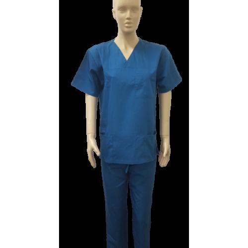 Costum medical pacific blue - unisex