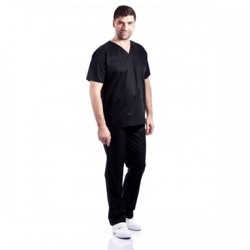 Costum medical negru - unisex