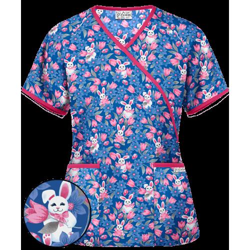 Bluza medicala 'Easter Delight' (H668EDE)