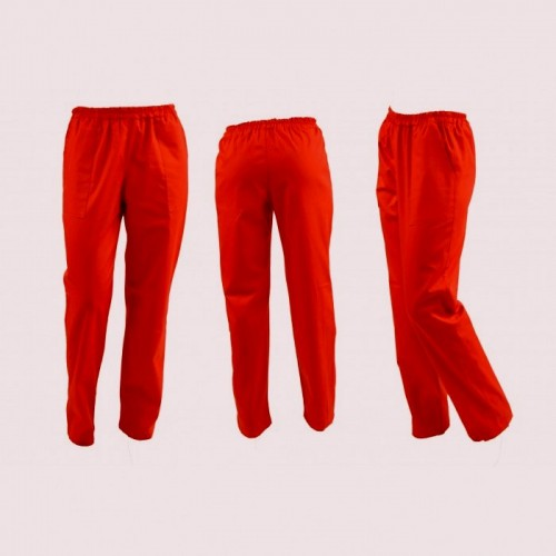 Pantaloni rosii unisex