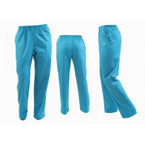 Pantaloni turcoaz unisex