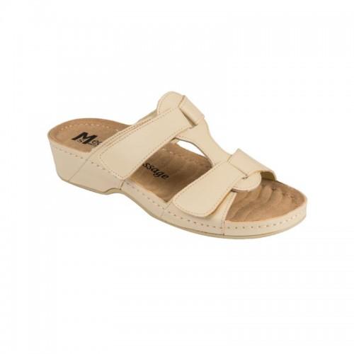 Papuci Medi+ 242 beige - dama