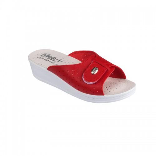 Papuci Medi+ 312SB rosu - dama
