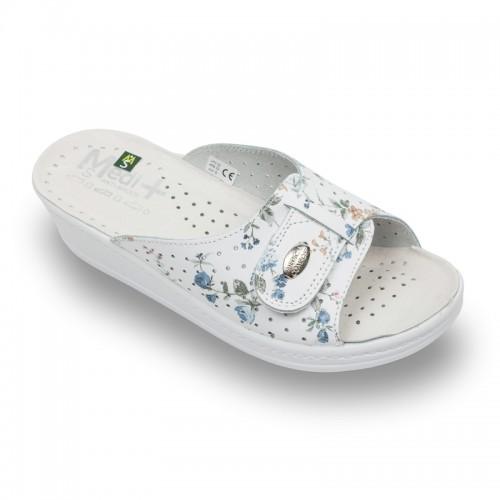 Papuci Medi+ 312SBF flori - dama
