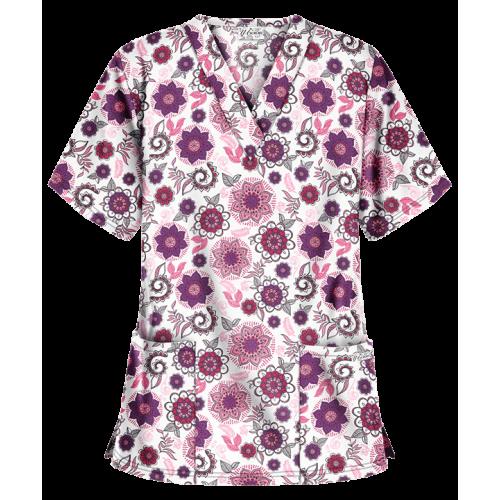 Bluza medicala   Floral Medallion   (PC62FML)